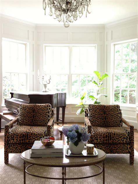 Leopard Living Room by Leopard Rug Design Ideas
