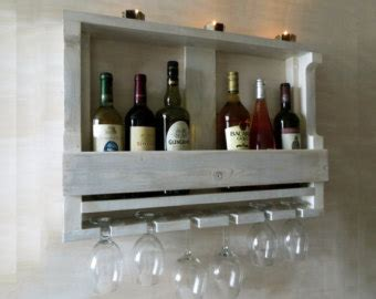 Shelf Of Opened White Wine by Wine Shelf Wine Rack Wine Glass Rack Wooden Wine Shelf
