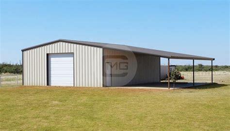 lean  garage lean  metal garage building