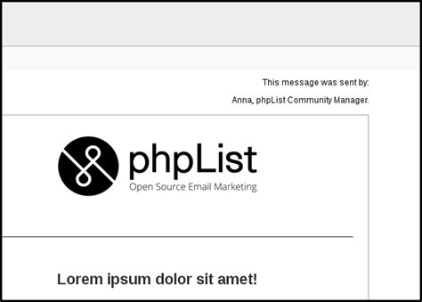 phplist templates free free newsletter software phplist org phplist org