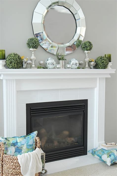decoration tips spring mantel decorating ideas setting for four