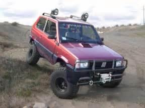Fiat Panda 4x4 Tuning Fiat Panda 4x4 Road Tuning