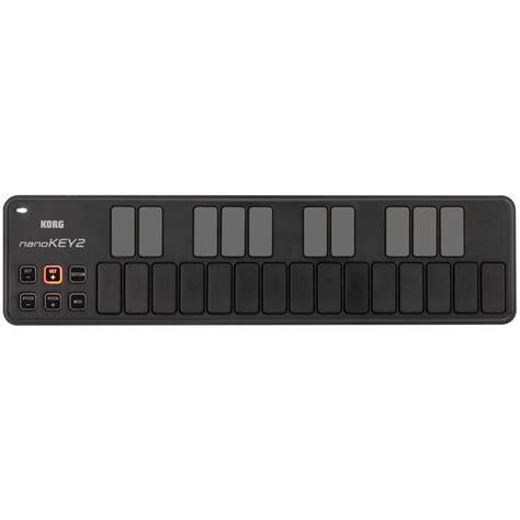Keyboard Controller Korg korg nano key 2 usb midi controller black at gear4music
