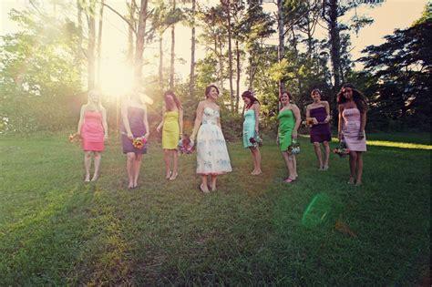 multi colored bridesmaid dresses land wedding weddingbee page 2
