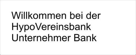 hvb bank unternehmer bank hypovereinsbank ein claim