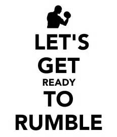 Let s get ready to rumble poster srgddt keep calm o matic