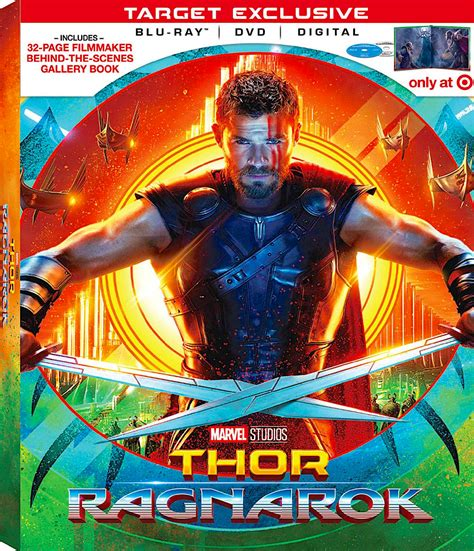 film thor ragnarok bluray thor ragnarok target exclusive blu ray disney recent