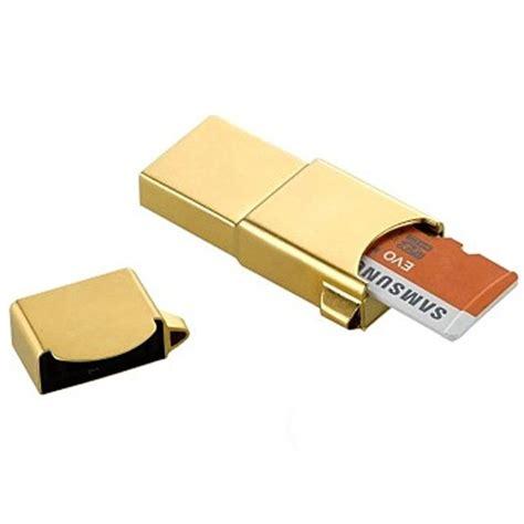 Micro Sd Bandung samsung metal otg card reader with evo microsdhc 32gb oem32gsb01 golden jakartanotebook