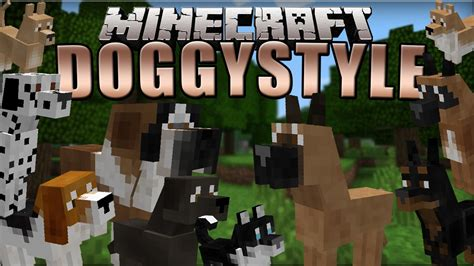 dogs mods doggystyles minecraft mod 1 7 10 review 10 breeds of dogs