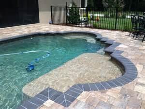 inground pool custom inground pools lakeland fl pool blue inc