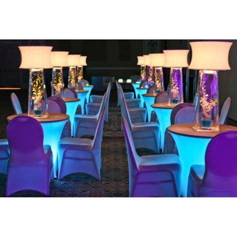 LED Disklyte   LIGHTS UP COCKTAIL TABLES! [BuyDisklyte