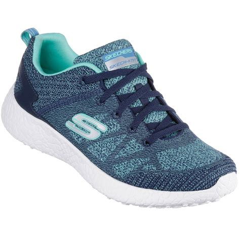 memory foam athletic shoes skechers womens burst memory foam athletic shoes