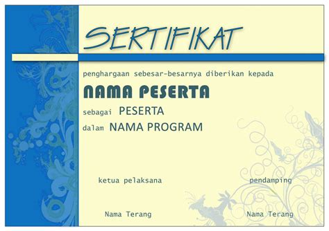 gambar format sertifikat sertifikat template by bow08 on deviantart