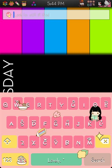 color keyboard themes iphone theme color keyboard cho iphone 4 vntut com
