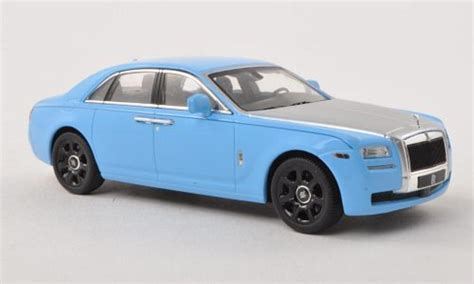 roll royce ghost blue rolls royce ghost blue gray lhd ixo diecast model car 1 43