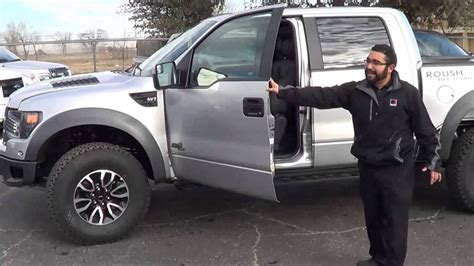 roush raptor silver  rogers ford  midland texas    youtube