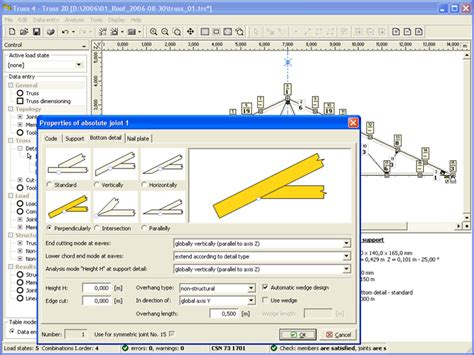 free wooden truss design software