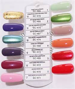 opi gel colors opi gelcolor set of 12 hawaii collection summer