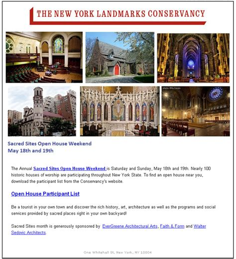 libro new york city landmarks the new york landmarks conservancy sacred sites open house weekend historic districts council