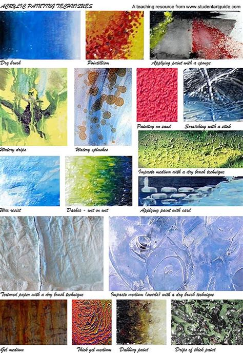 acrylic painting tips the 25 best texture painting techniques ideas on
