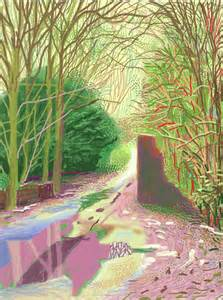 Landscape Pictures By David Hockney Stunning Landscape Paintings By David Hockney