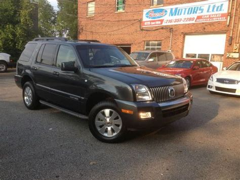 2010 mercury mountaineer heated leather trimmed front seats batucars purchase used 2010 mercury mountaineer v6 awd leather no reserve rebuilt salvage 07 08 09 2011