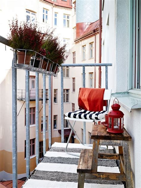 tiny ikea balcony decor ideas decoraci 243 n de terrazas peque 241 as 161 y acogedoras