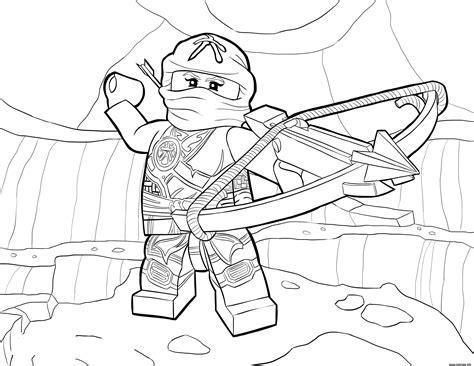 ninjago coloring pages skylar coloriage lego ninjago skylor in zukin gi dessin