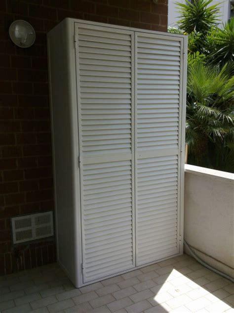 armadi da balcone mobili da esterno mobile per il giardino da esterno in