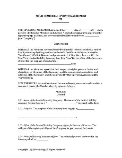 operating agreement llc virginia template operating agreement llc virginia template new york multi