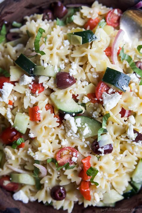 greek pasta salad greek pasta salad easy healthy recipes using real
