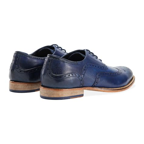 Handmade Shoes Brisbane - brisbane brogue blue 40 goodwin smith touch