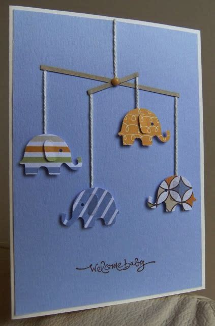 25 best ideas about new baby cards on handmade baby cards baby cards and punch mobile