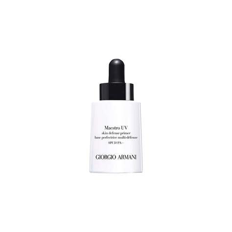Make Up For Uv Prime Spf 50pa Daily Protection Make Up Primer giorgio armani maestro uv skin defense primer spf 50 pa 30ml at lewis