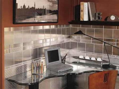 stainless steel tile backsplash home depot inoxia delta 30