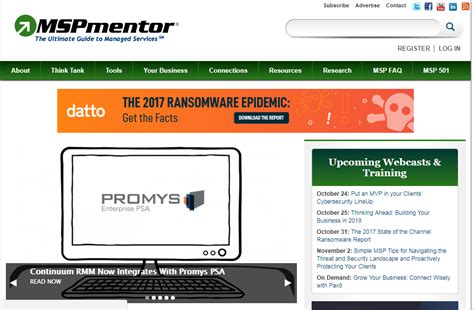 continuum help desk pricing media coverage by mspmentor and their