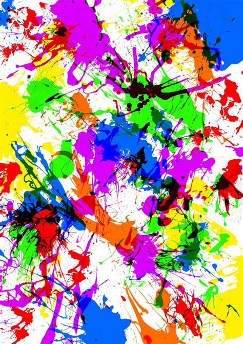 paint splat wallpapers wallpaper cave