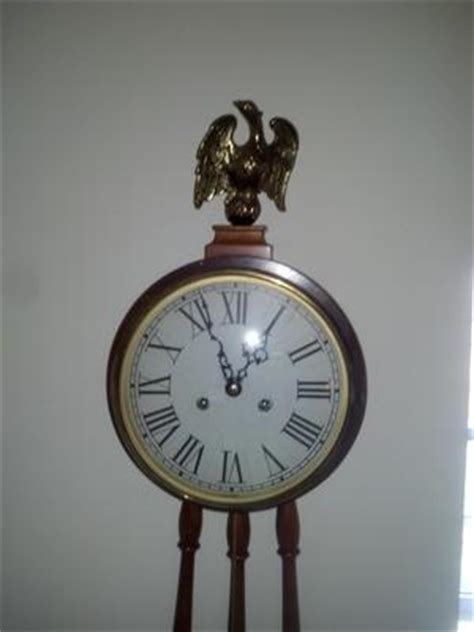 wall mounted grandfather clock need recommendation on shipper and valuation a colonial