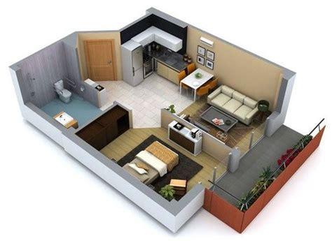 House Plans With Casitas dise 241 os de interiores de casas peque 241 as y economicas