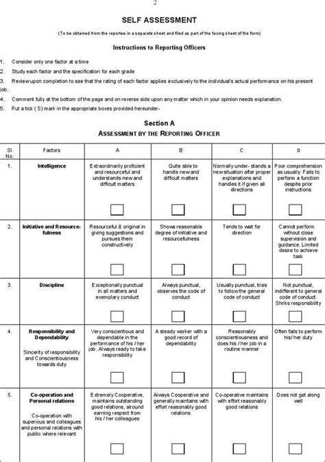 Employee Appraisal Template by The 25 Best Employee Evaluation Form Ideas On
