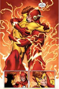 the flash rebirth barry allen remembers the original wally west rebirth