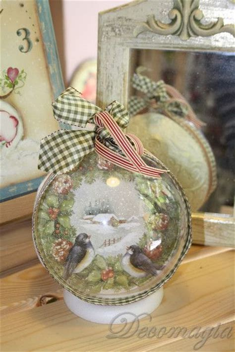 Decoupage Ornaments - the world s catalog of ideas