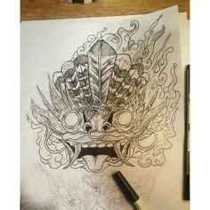 tattoo tradisional indonesia hellmonktattoo repost tattoo quot hari ini temanya