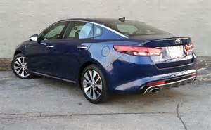 Kia Optima Standard Test Drive 2016 Kia Optima Sx L The Daily Drive