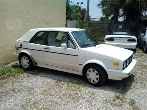 volkswagen rabbit 1990 volkswagen cabrio for sale find or sell used cars