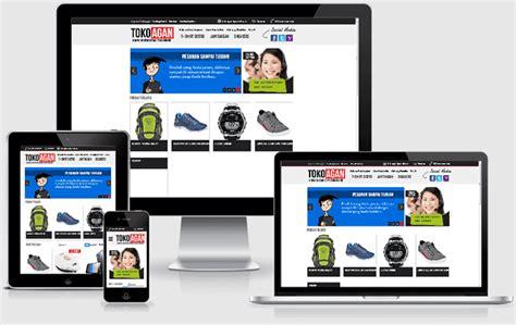 jasa pembuat web online shop jasa toko online murah
