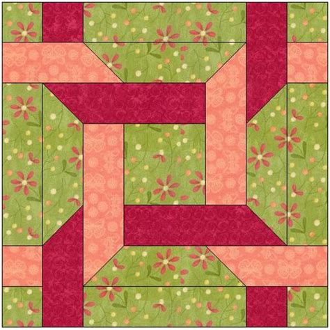 Traditional Quilt Block Patterns by Amish Traditional Quilt Block Pattern