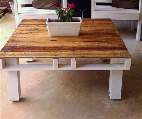 15 reclaimed diy coffee tables diy and crafts diy pallet coffee table design and ideas