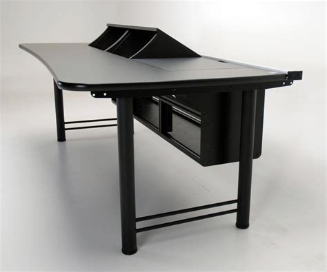 console desk transform console desk with rackmount bays martin ziegler