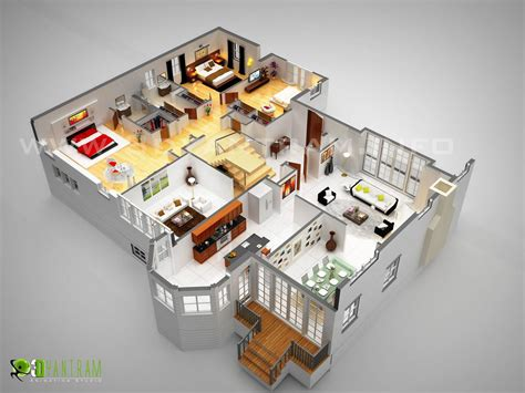 3d plan 3d floor plan design interactive 3d floor plan yantram